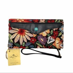 Patricia Nash Valentia Snap Wristlet Wallet